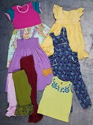 Girls Boutique Clothing Spring Lot sizes 5/6 Adorable Essentials Hanna Anderson