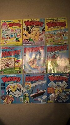 Bulk / Job Lot Whoopee Monthly Comics (1990's – some still with toys attached!)