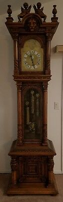TIFFANY AND CO. grandfather clock antique