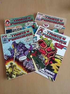 Marvel Transformers Comic - June 1988 - Issues 168-171