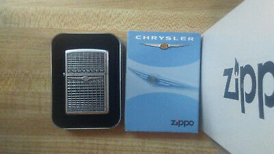 Zippo Chrysler Grill Badge 2006 Unstruck W/tin & Sleeve