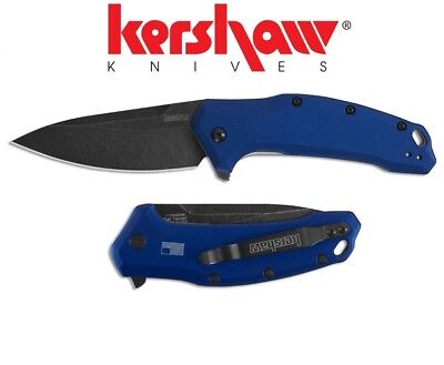 Kershaw - LINK Navy Blue Assisted Opening Knife (USA) 1776NBBW New