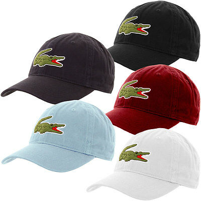 7153f15a New Lacoste Men's Big Croc Gabardine Cap Dadhats - One Size hat RK8217-51