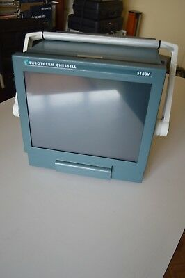 Eurotherm Chessell 5180V 180mm video graphic recorder DAQ