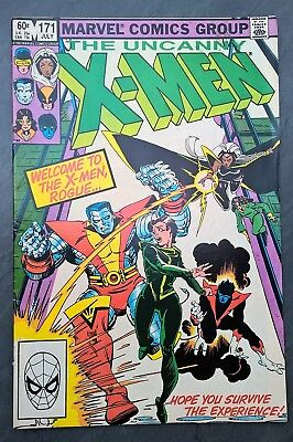 Marvel's X-Men, #171, 1983, Rogue joins the team