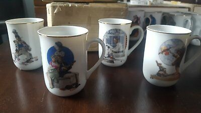 Norman Rockwell x3 sets