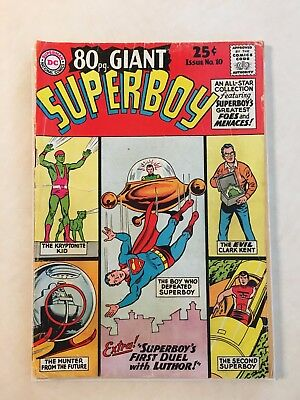 DC 80 Page Giant, Superboy, Issue No.10 (May 1965), Good