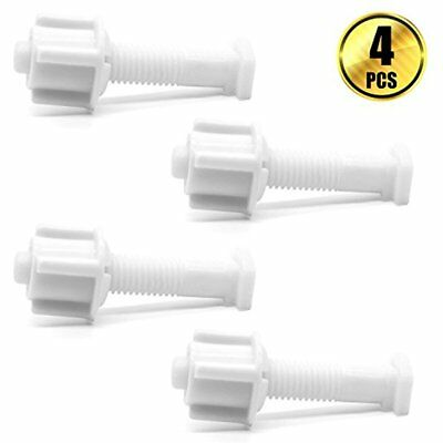 Remarkable Btnow Toilet Seat Hinge Bolt Screw And Nut Universal White Gamerscity Chair Design For Home Gamerscityorg