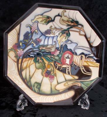 Moorcroft Queenie's Van hexagonal plate Limited Edition by Emma Bossons RRP £560