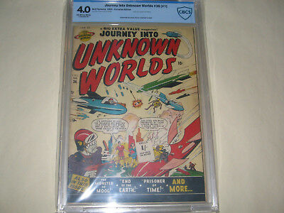 Journey into Unknown Worlds (36) #1 Canadian edition. CBCS 4.0