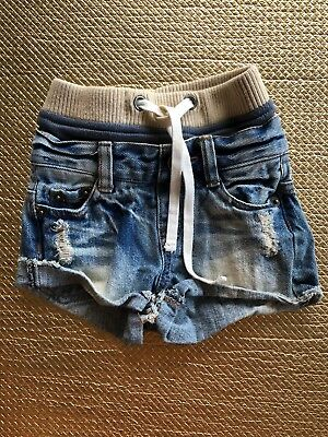 rock your baby / Kid Size 1 Denim Shorts