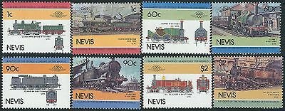 e109) Nevis. MNH. 1985. Small Collection of Railway Locos. 3rd Series