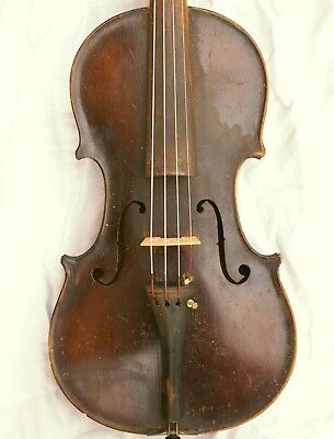 Nice Antique Violin signed Kolitz 1920, Playable