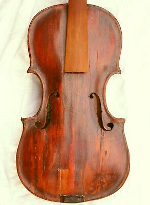 Antique Baroque 18th c. Violin for repair