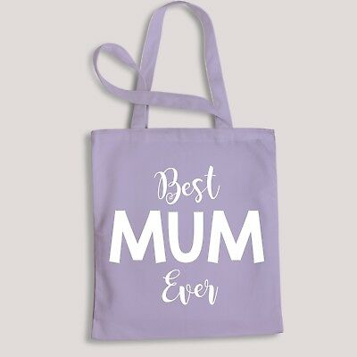 Best Mum Ever Mothers Day Tote Bag Nanny Gift Family No1 Mummy Cute