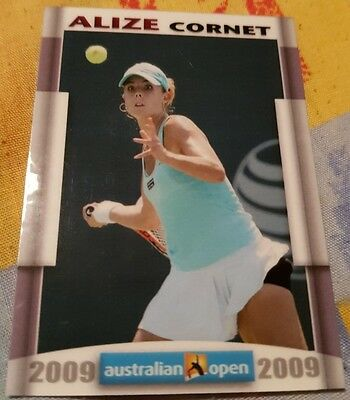 Alizé CORNET 2009 Australian Open FA Collector Edition card #13/20