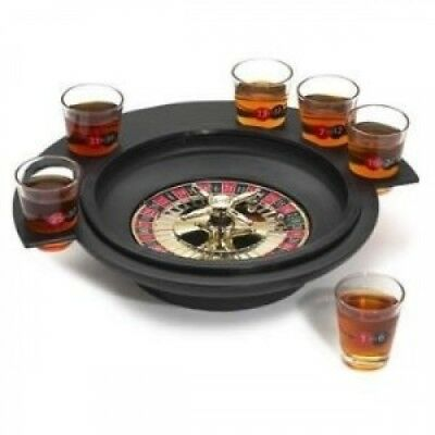 Roulette Shot Game Set. Elements. Shipping is Free