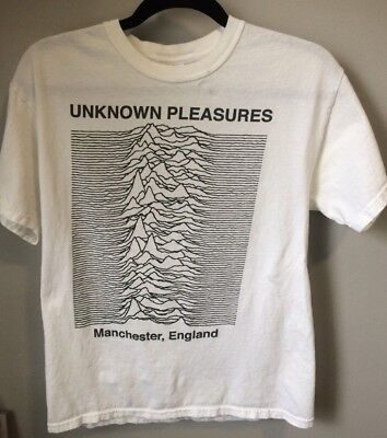 PETER HOOK Concert Tshirt joy division ian curtis unknown pleasures 2010