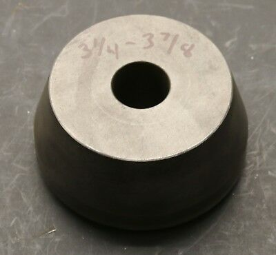 "3-1/4"" to 3-7/8"" Centering Cone for Brake Lathe w/ 1"" Arbor Shaft Ammco FMC JBC"