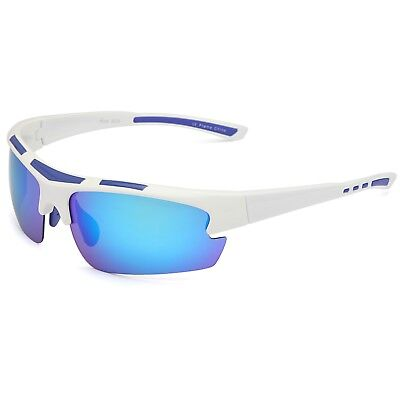 Siren Polarized TR90 Unbreakable Frame Fishing Outdoor Sports Sunglasses w/ Case