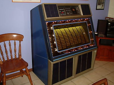 Rowe R-86 Jukebox, Juke Box 45rpm