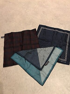 Men's Tommy Hilfiger Pocket Squares X3