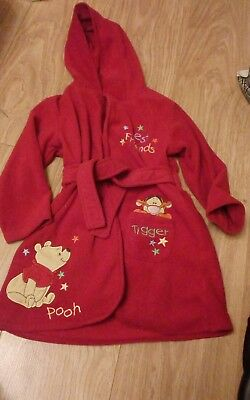 Winnie the Pooh dressing gown 18-24 months