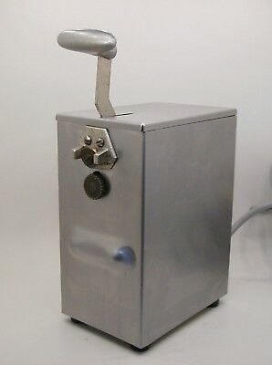 Edlund 266 Single One speed Tabletop Commercial SS Electric Can Opener 115V USA