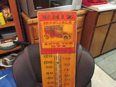 black WHIZ  THERMOSTAT  BY R.M.HOLLINGSHEAD CO