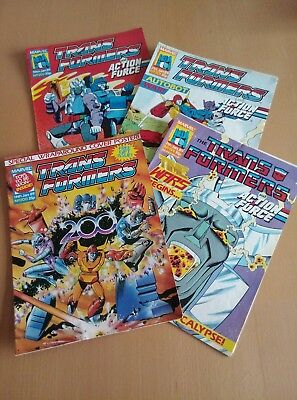 Marvel Transformers Comic - January 1989 - Issues 199-202