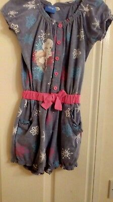 frozen playsuit age 7-8 years