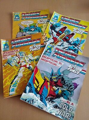 Marvel Transformers Comic - March 1989 - Issues 207-210