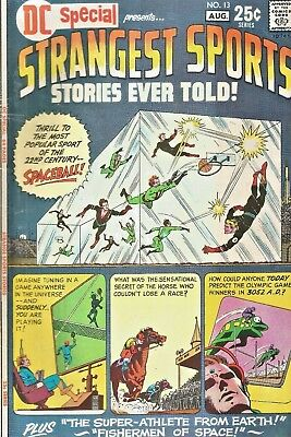 Dc Special #13  Strangest Sports Stories Ever Told Giant-Size  Dc 1971  Nice!!!