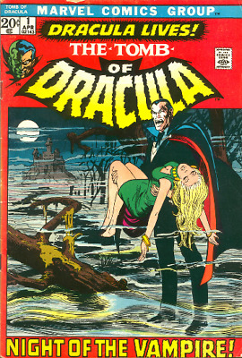 The Tomb Of Dracula - Golden Age - Horrors - Comics 98 Issues On Dvd