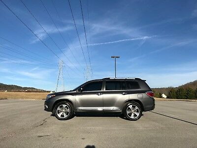 2012 Toyota Highlander Limited Toyota Highlander Limited 4wd