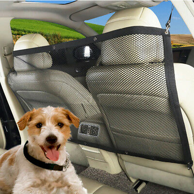 Car Back Guard Seat Dog Pet Isolation Mesh Safety Oxford Net Barrier Universal