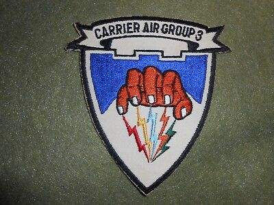 Original 1950's Navy Carrier Air Group 3 Patch