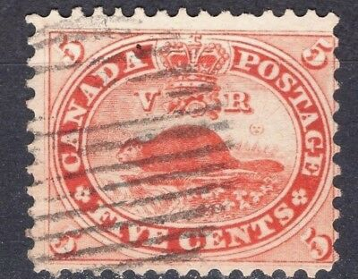 Canada  #15 5c  12P   bright    First Cents Issue   1859-1864  VG