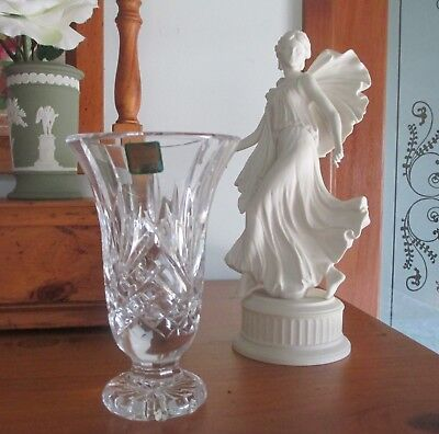 WATERFORD MARQUIS - Traditional Crystal Stem  Vase - 15cm high