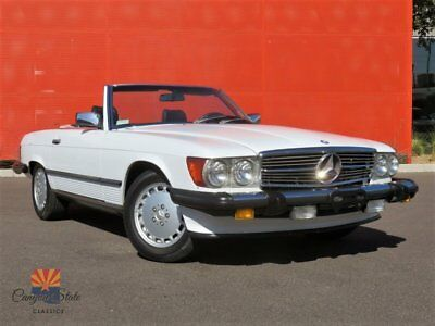 1989 Mercedes-Benz SL-Class 560SL Roadster 1989 Mercedes-Benz 560SL Roadster, 5.6L V8, 2 Tops, Rear Seat, All Orig 1 Owner