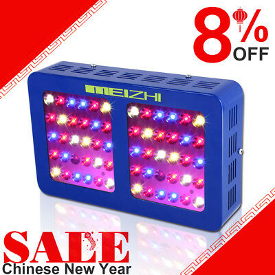 MEIZHI 300W LED Grow Lights Indoor Hydroponics Full Spectrum VEG BLOOM Swithches