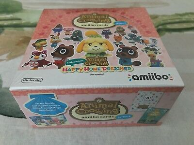 Animal Crossing Series 4 Amiibo Cards Box Of 42 Packets Brand New & Factory Seal