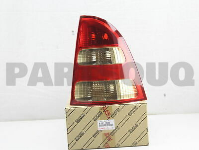 8155113460 Genuine Toyota LENS, REAR COMBINATION LAMP, RH 81551-13460