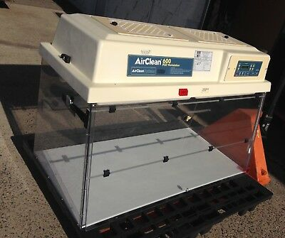 AirClean Systems 600 Ductless PCR workstation AC648LFUVC