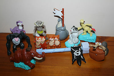 10 x Ice Age 4 Continental Drift McDonalds Happy Meal Promotion Toys