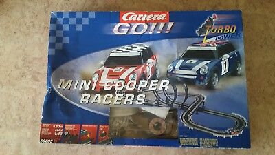 Carrea  Go!!! Mini Cooper Slot Car Set