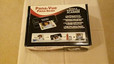 Pana-Vue Picture and Business Card Scanner