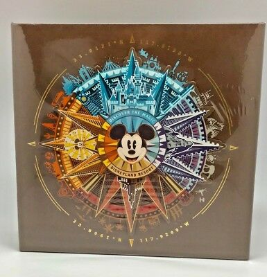 New Disneyland Disney Parks Mickey Compass Discover the Magic Photo Album Medium