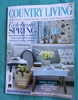Country Living Magazine March 2018