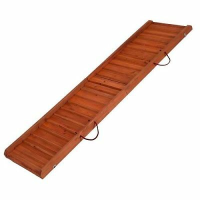 Dog Ramp Car Small Large Folding Wood Easy Access Boot Stairs Strong Sturdy
